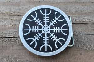 Viking Protection Rune Symbol Custom Belt Buckle