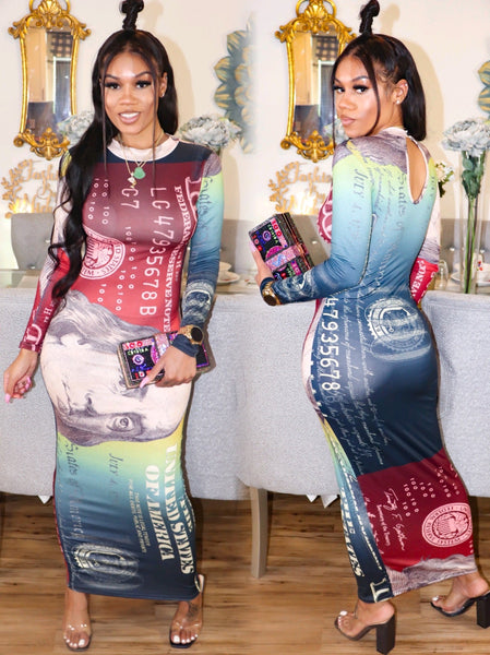 HUNDRED MILLI DRESS (MULTICOLOR)