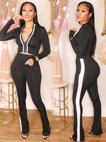 BOSS LADY SET (BLACK)
