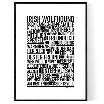 Irish Wolfhound Poster