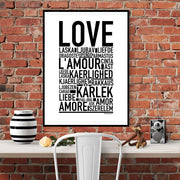 Love Language Poster