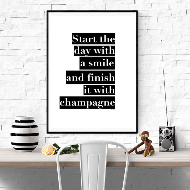 Start The Day Poster