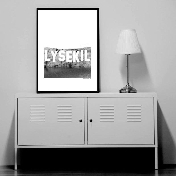 Lysekil Sign Poster