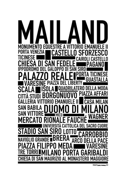 Mailand Poster