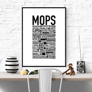 Mops Poster