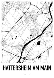 Hattersheim am MainKarten