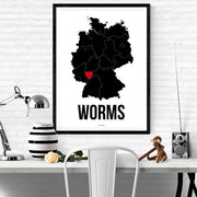 Worms Herz