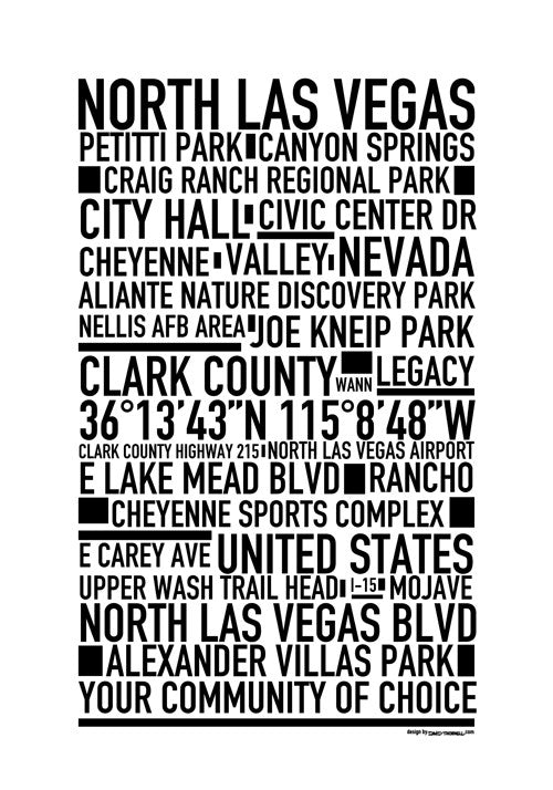 North Las Vegas Poster