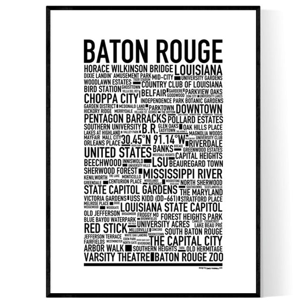 Baton Rouge Poster