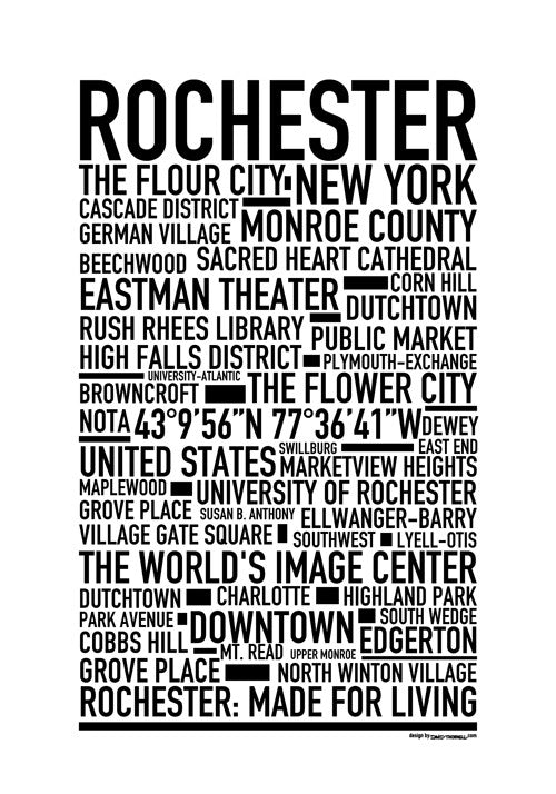 Rochester NY Poster
