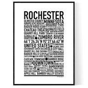 Rochester MN Poster