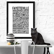 Fayetteville Poster