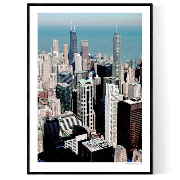 Chicago Skyscraper Poster
