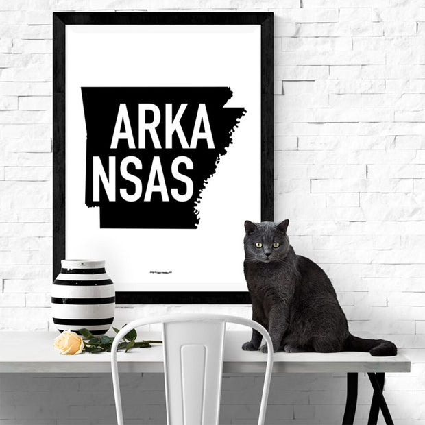 State Of Arkansas Poster