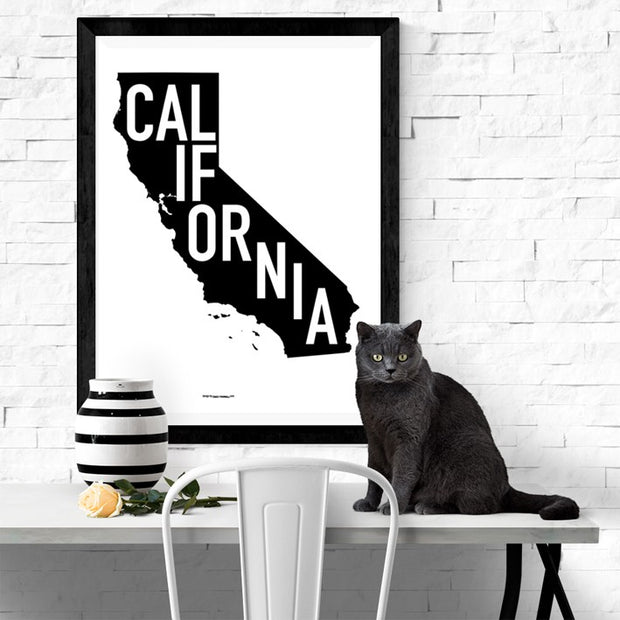 State Of California Poster