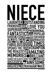 Niece Poster
