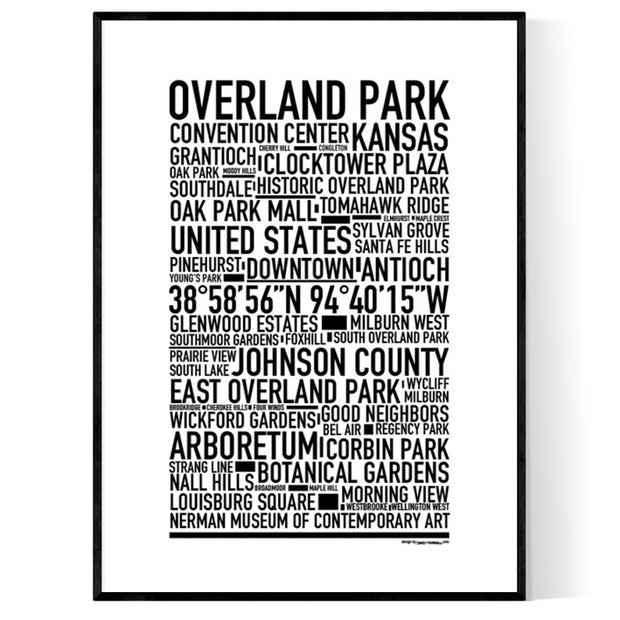 Overland Park Poster