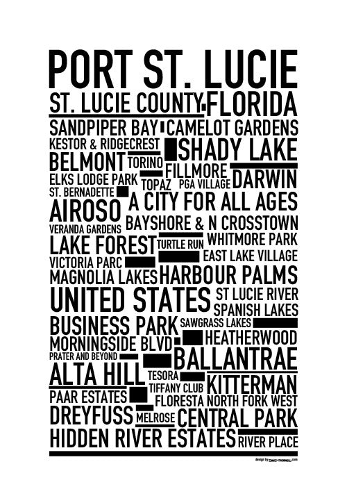 Port St. Lucie Poster