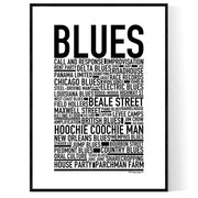 Blues Poster