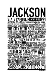 Jackson MS Poster