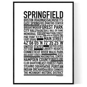 Springfield MA Poster