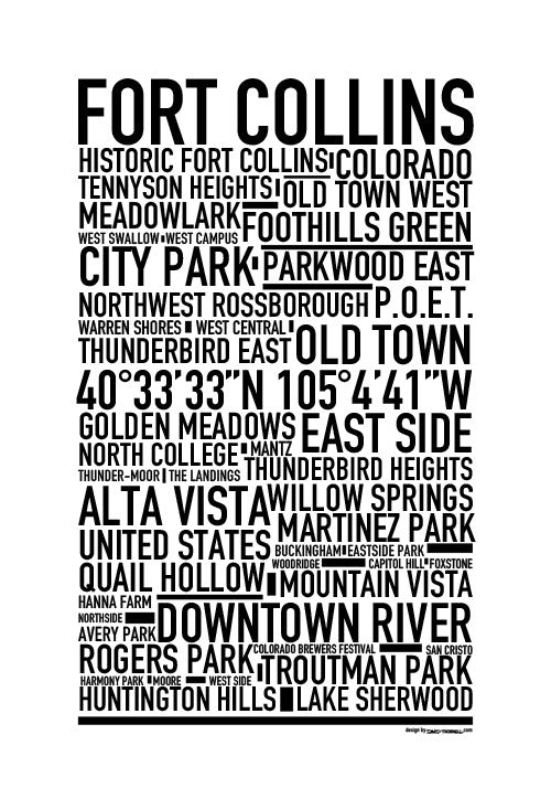 Fort Collins Poster