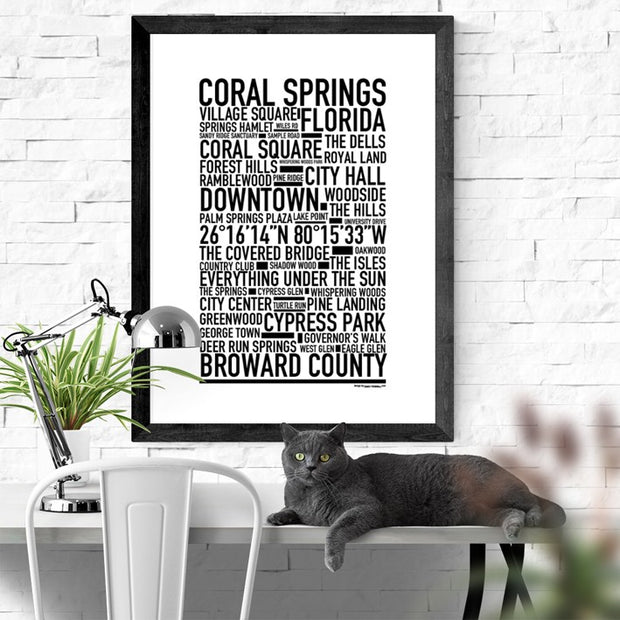 Coral Springs Poster