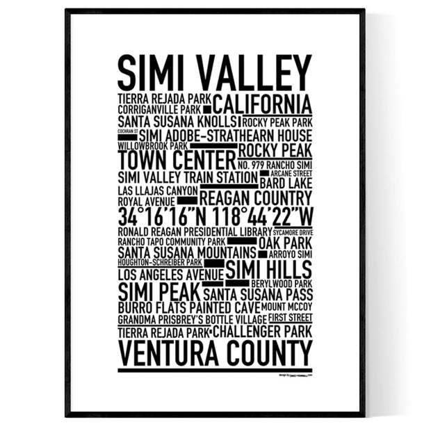 Simi Valley Poster