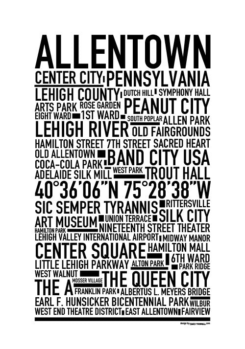 Allentown PA Poster