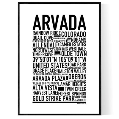 Arvada CO Poster