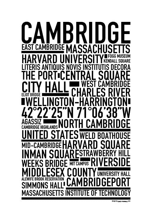 Cambridge Poster