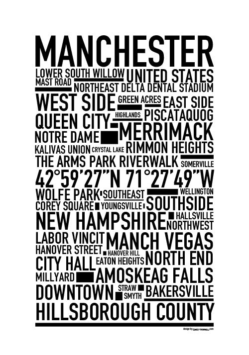 Manchester NH Poster
