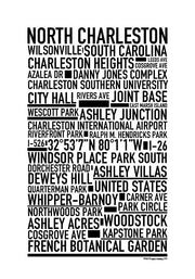 North Charleston Poster