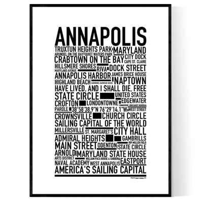 Annapolis Poster