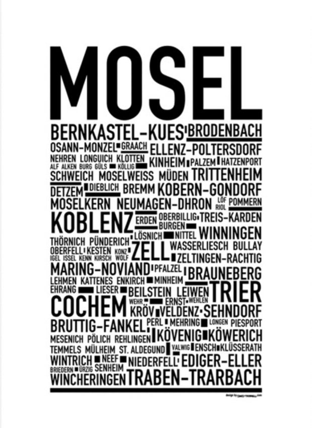 Mosel Poster