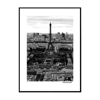 Above Paris Poster