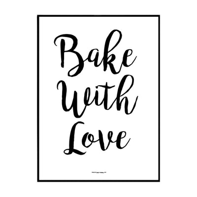 Bake With Love Poster