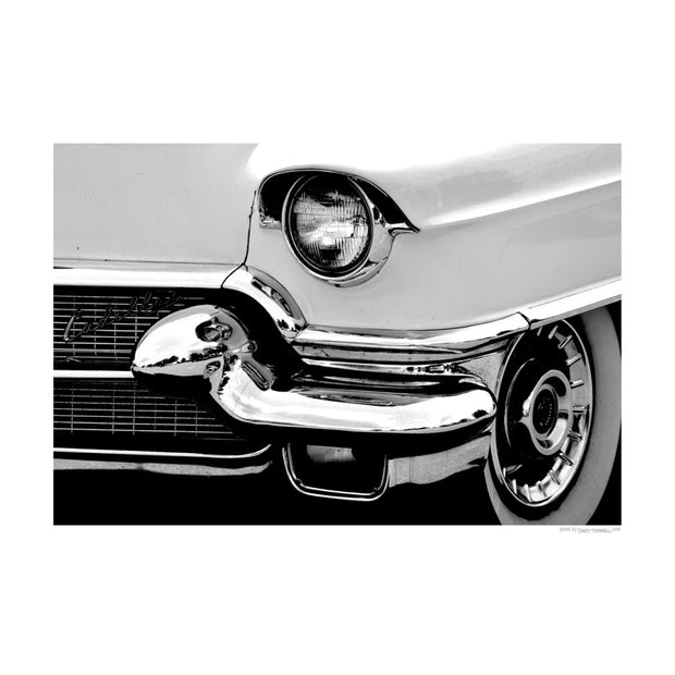 Cadillac Front Poster