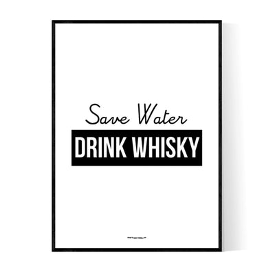 Drink Whisky Poster