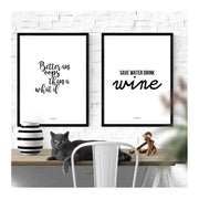 Drink Wine Poster