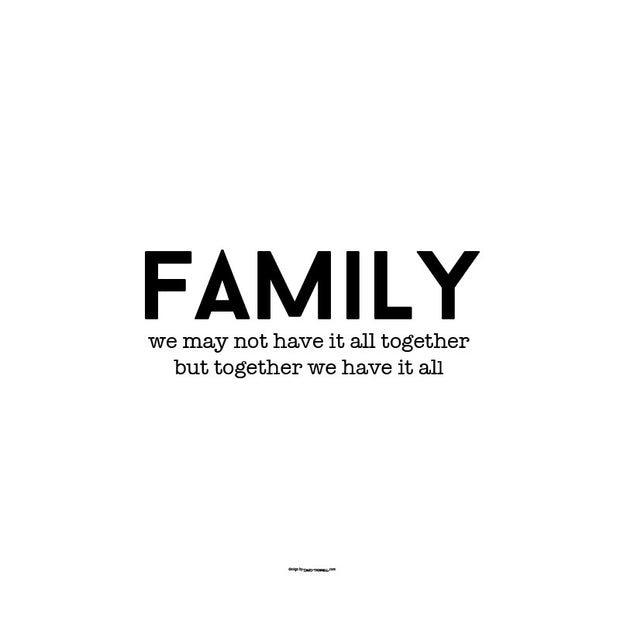 Family Together Poster
