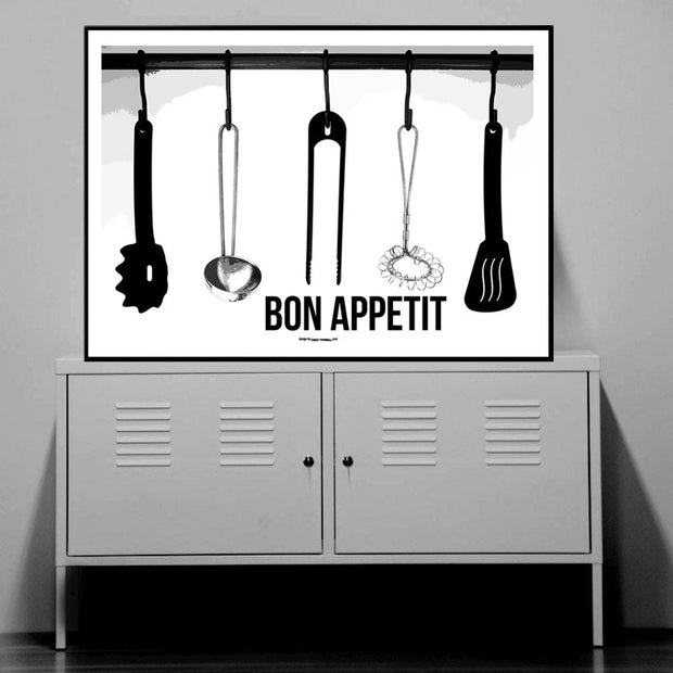 Kitchen Tools Poster
