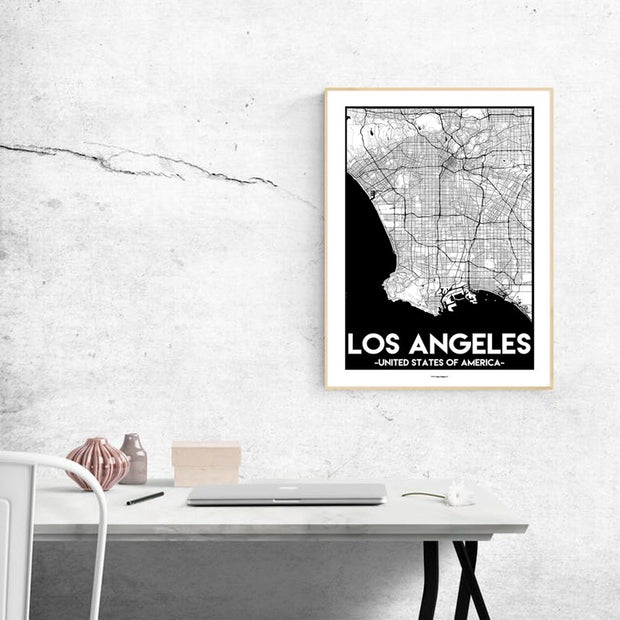 Los Angeles Urban Poster
