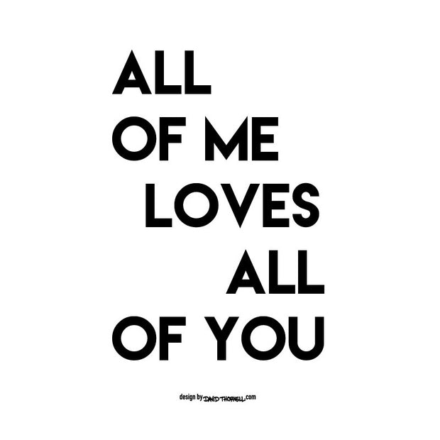 Loves All Of You Poster