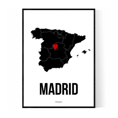 Madrid Heart 2 Poster