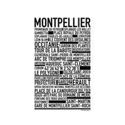 Montpellier Poster