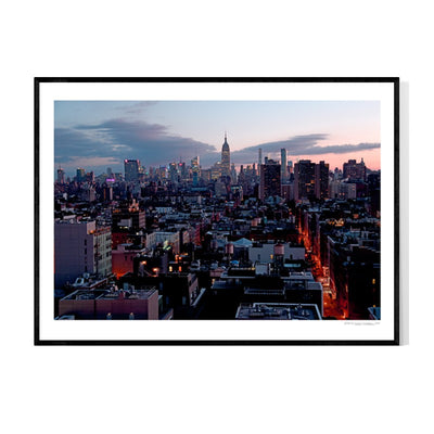 New York Chelsea Morning Poster