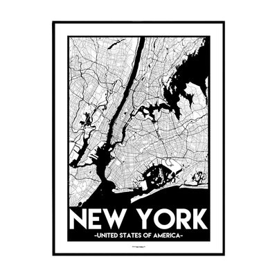 New York Urban Poster
