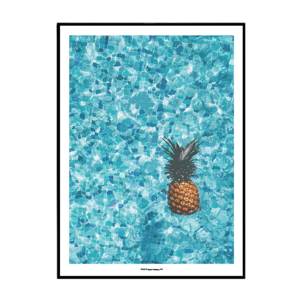 Pineapple Pool Poster