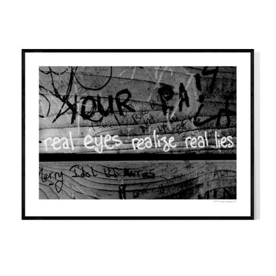 Real Eyes Poster